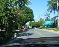 Koh Samui road traffic - Road on Samui