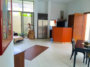 Living area and pantry of the 3 bedroom house in Lipa Noi