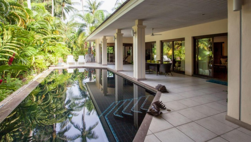 The comfortable 3 bedroom villa in Maenam with private pool