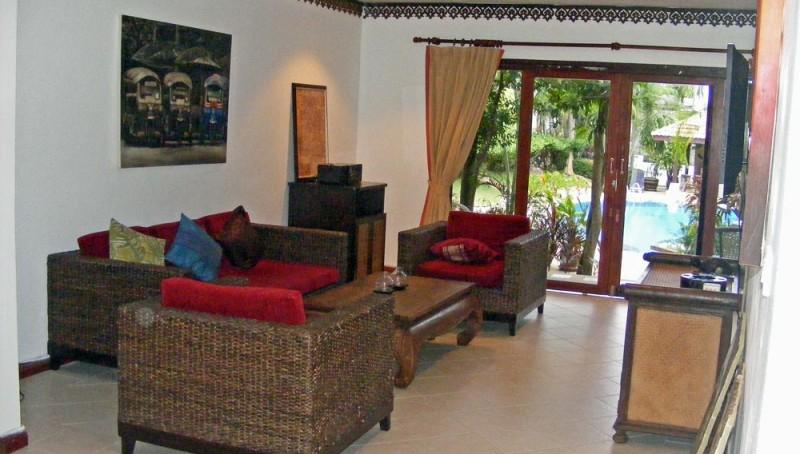 Living area - Wohnbereich