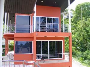 Meerblick Resort und 3 Häuser in Bophut. Ein 2 Schlafzimmer Haus - A 2 bedroom house
