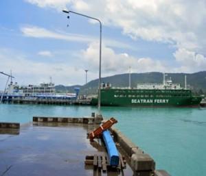 Thailand Visa Regulations - Koh Samui Faehranleger - Koh Samui ferry pier