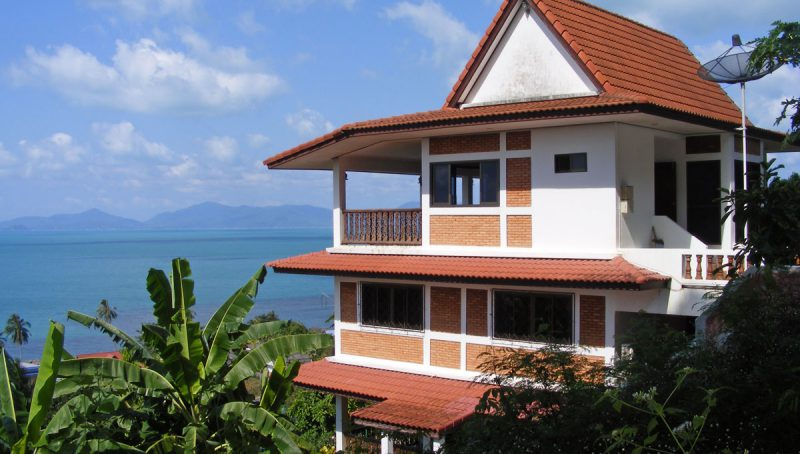Villa Ban Tai o1 - Blick zur Villa Ban Tai o1